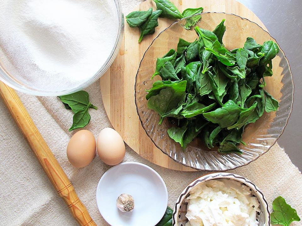 ingrediente ravioli spanac ricotta